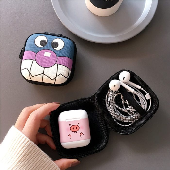 Headphone Pouch Cable Organizer