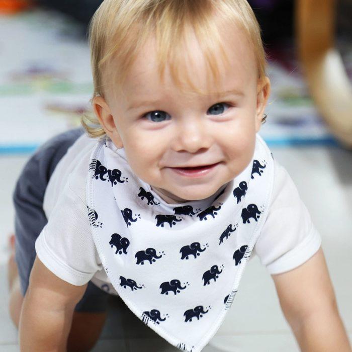 Teething Bibs Baby Bandana Scarf