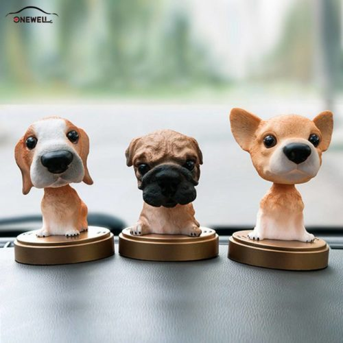 Car Bobble Head Air Freshener Decor