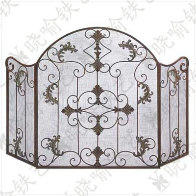 Fireplace Cover Foldable Screen