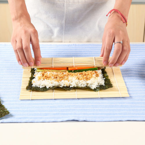 Bamboo Sushi Mat DIY Sushi Roller
