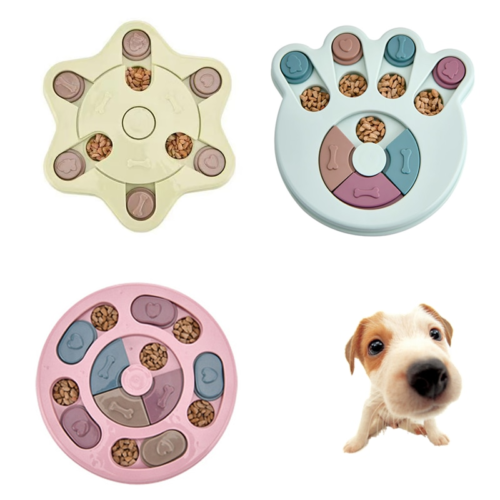 Puzzle Dog Bowl Trainer Toy