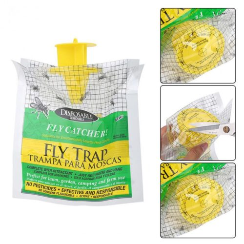 Fly Trap Bag Non-Toxic Catcher