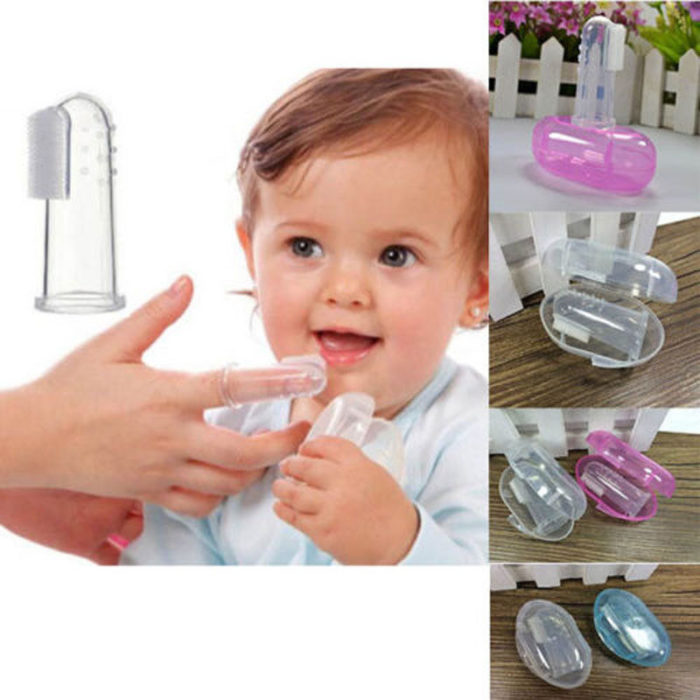 Baby Finger Toothbrush Soft Silicone Toothbrush