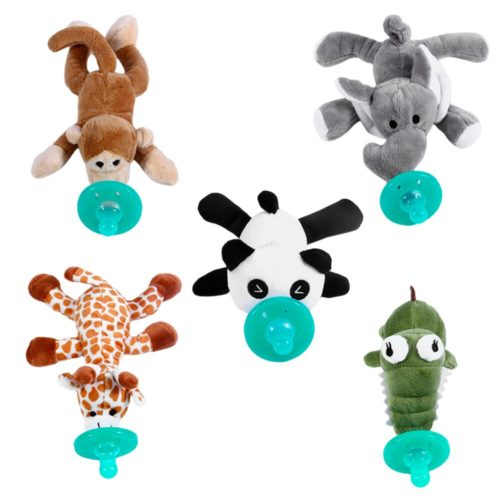 Pacifier with Stuffed Animal Toy Soother