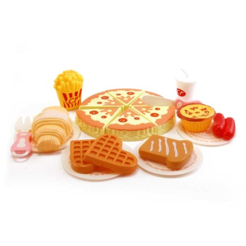 Toy Food Set Kids Pretend Play (20Pcs)