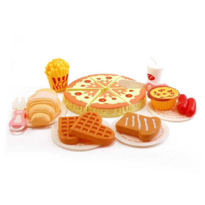 Toy Food Set Kids Pretend Play (20Pcs)