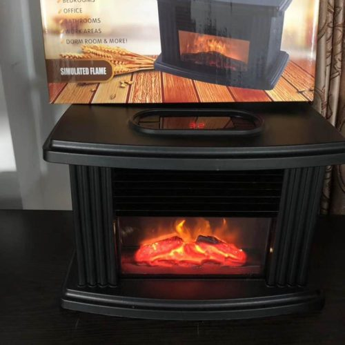 Electric Fireplace Tabletop Heater