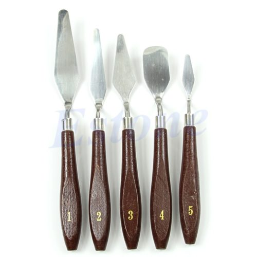 Paint Spatula 5PC Artist Tool Set