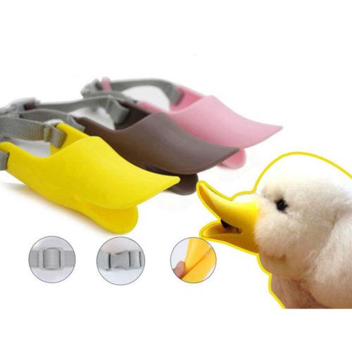 Small Dog Muzzle Duck Design