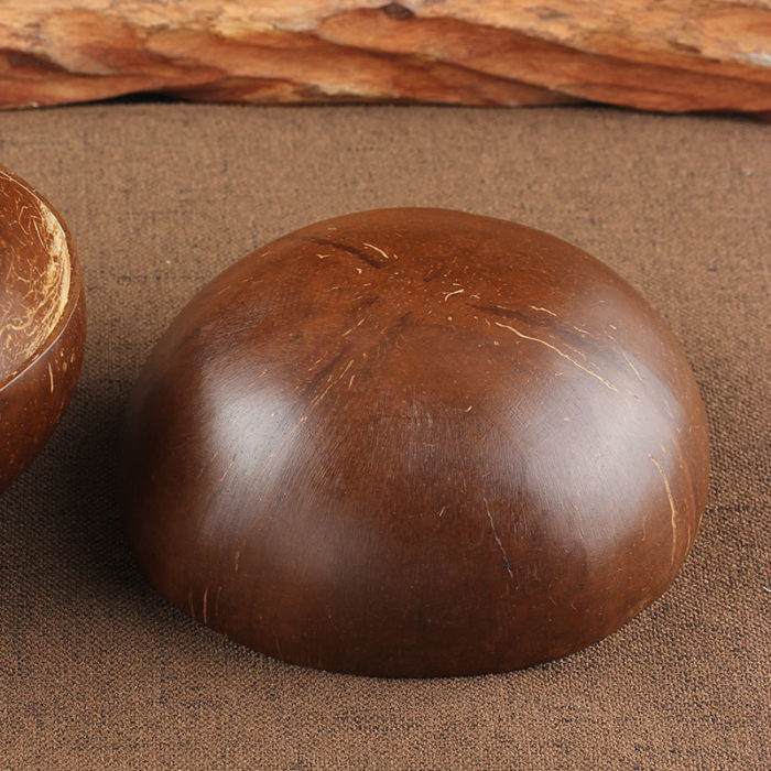 Wooden Fruit Bowl Coconut Shell