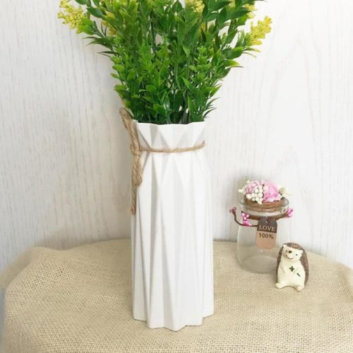 Plastic Vase Flower Pot Home Decor