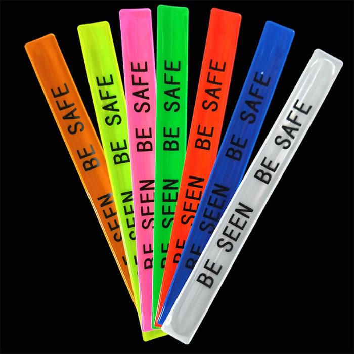 Slap Band Safety Reflective Wristband