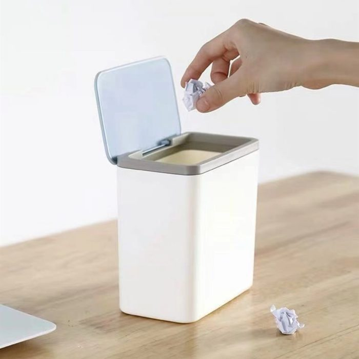 Small Trash Can Trash Box With Lid