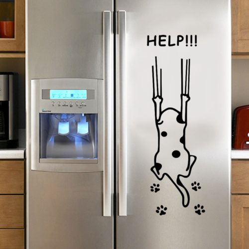 Refrigerator Sticker Self-Adhesive Decor