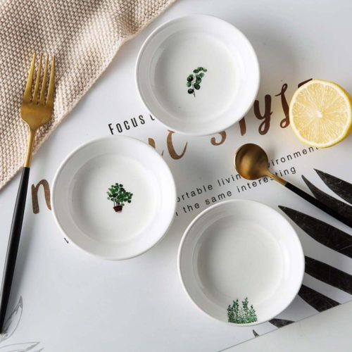 Side Plate Ceramic Sauce Dish