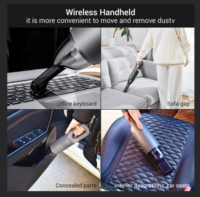 Portable Car Vacuum Cleaner Wireless