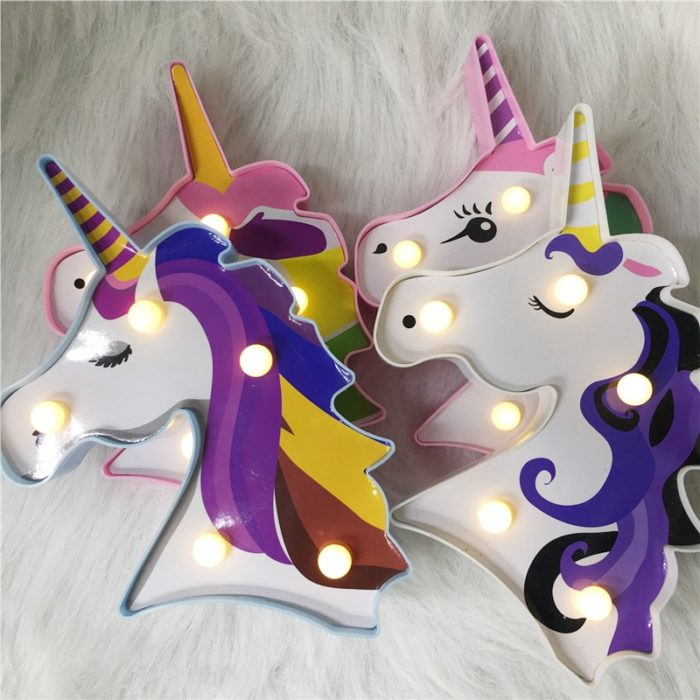 Unicorn LED Light Night Lamp