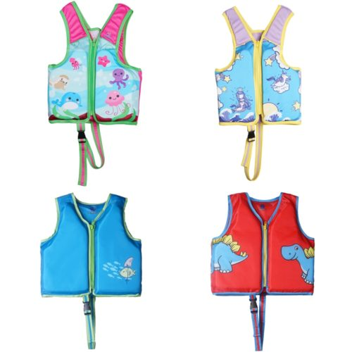Kids Swim Vest Cute Life Jacket
