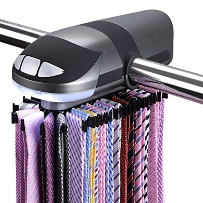 Tie Rack Automatic Tie Organizer