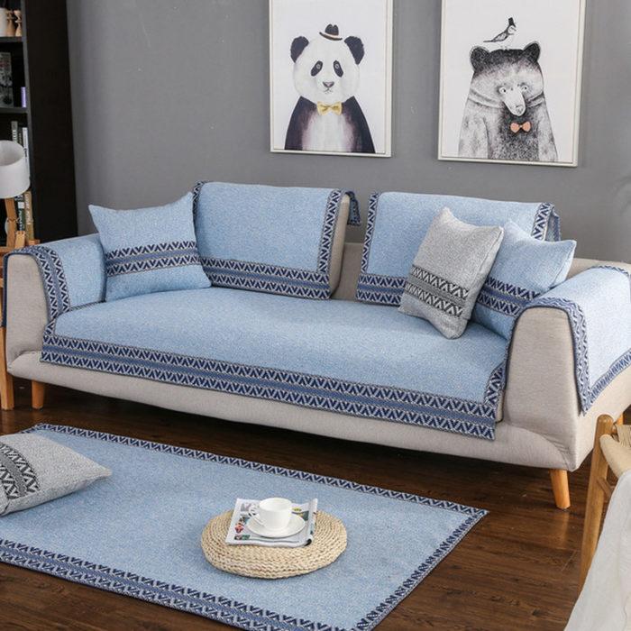 Sofa Cover Fabric Material