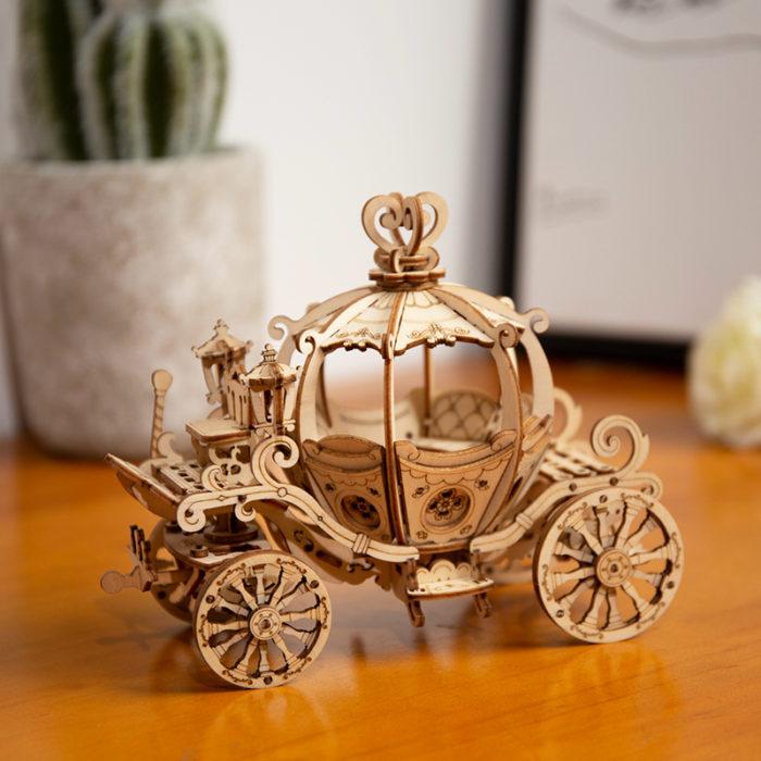 Wooden Puzzle DIY 3D Puzzle