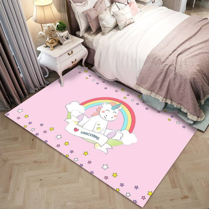Kids Carpet Unicorn Design