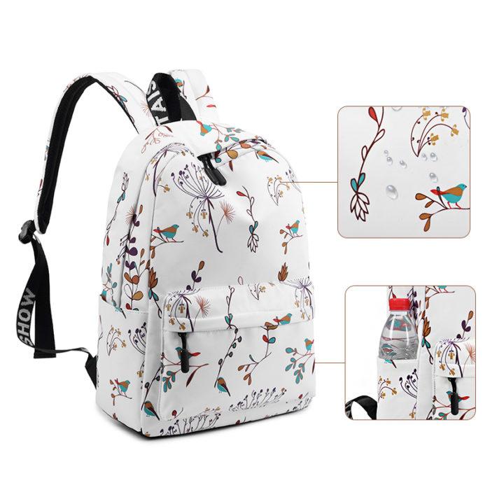 Ladies Rucksack Casual Backpack