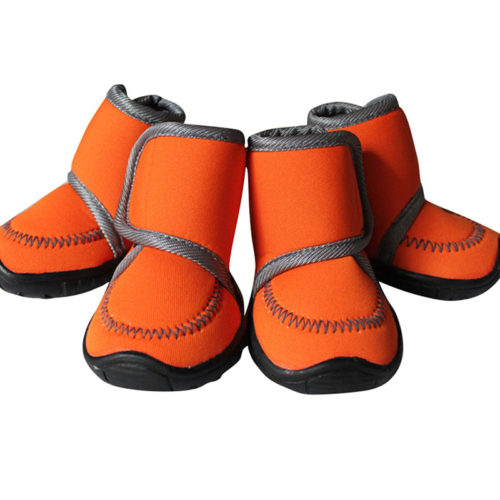 Dog Shoes For Winter Footwear 4pcs/Set