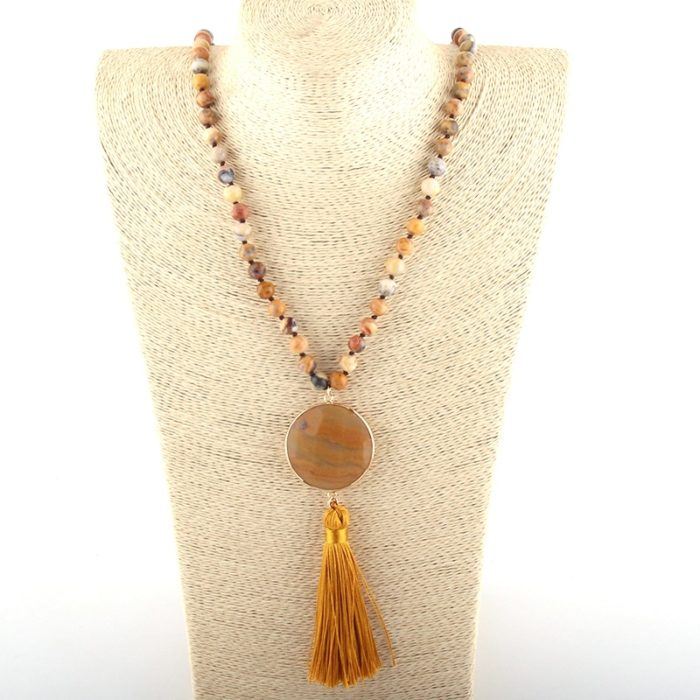 Boho Necklace Ladies Accessory