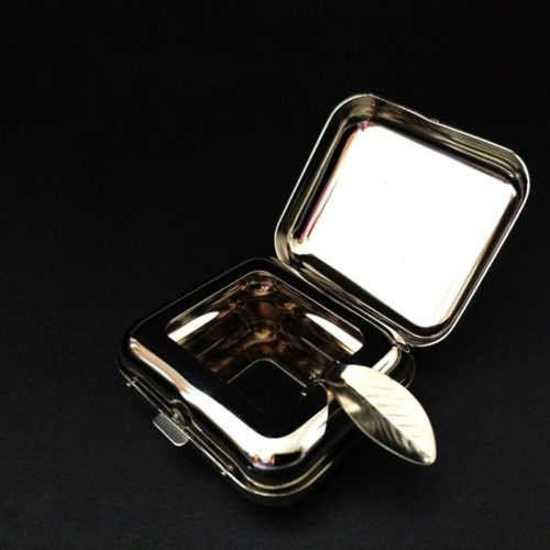 Pocket Ashtray Stainless Steel Container