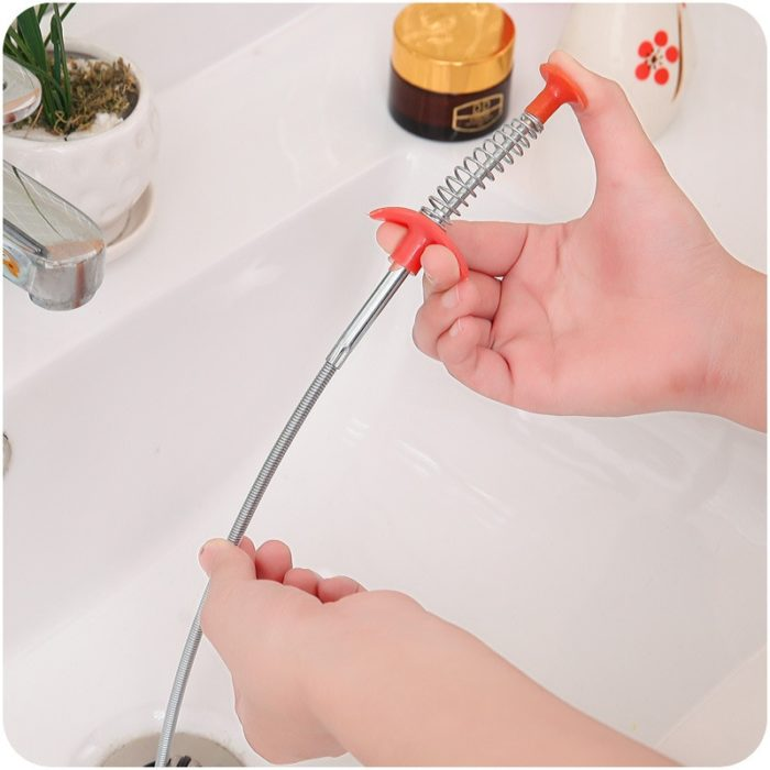 Drain Snake Clog Remover Tool