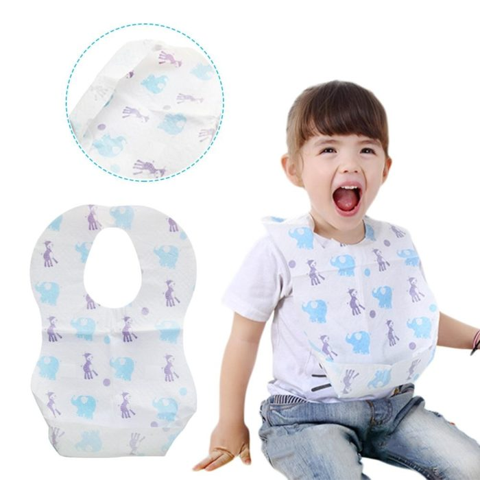 Disposable Bibs Waterproof and High-Quality