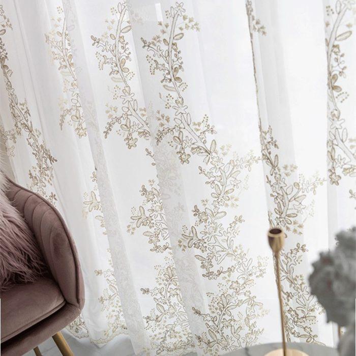 Tulle Curtain Window Decoration