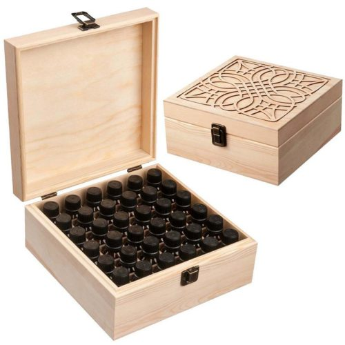 Essential Oil Box 36 Slot Holder