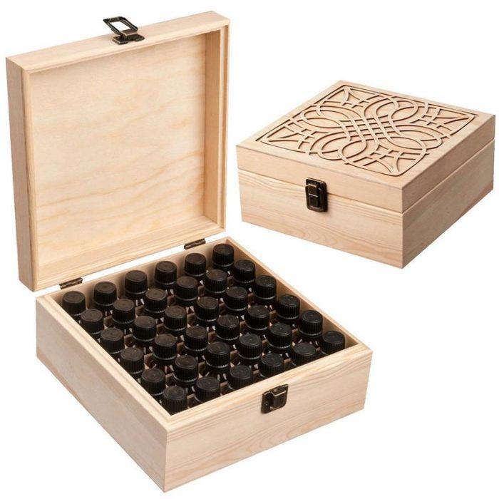 Essential Oil Box 36 Slot Holder