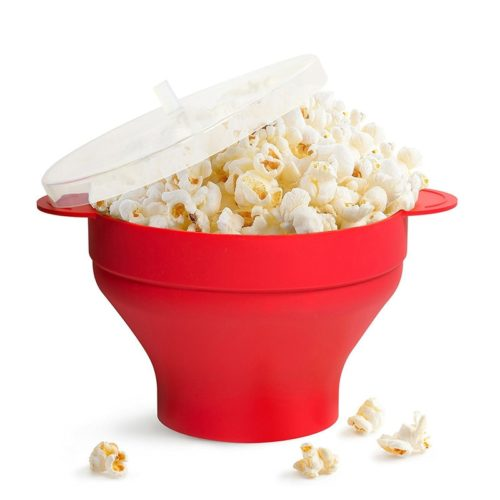 Microwave Popcorn Bowl with Lid