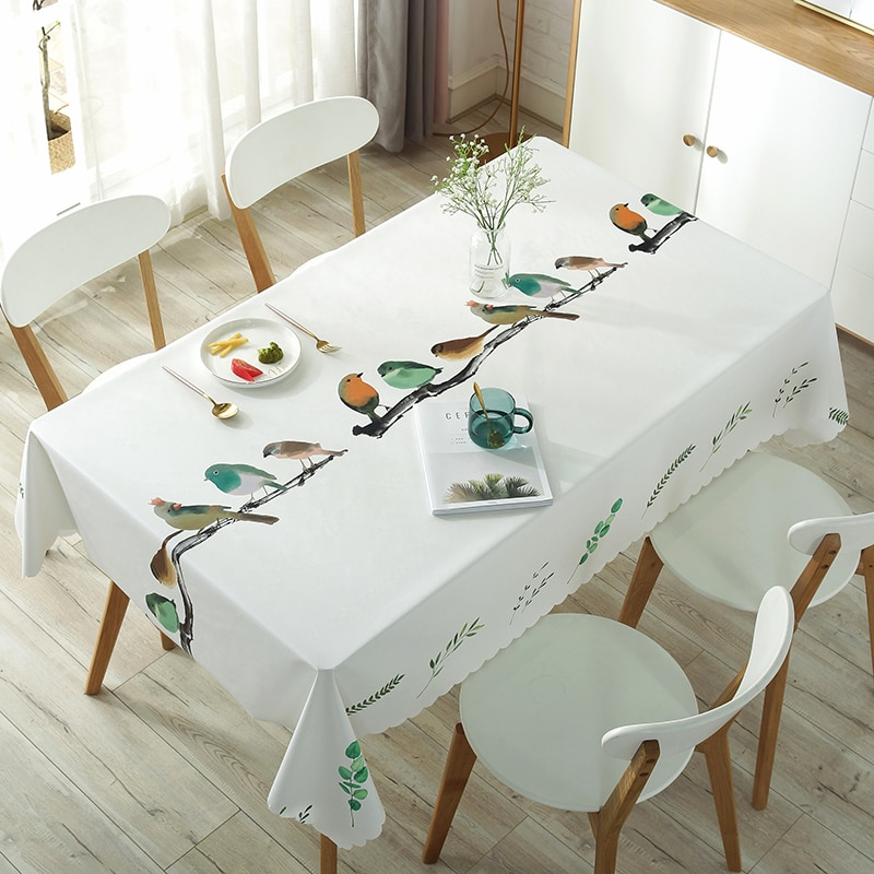 Dining Table Cloth Rectangular Round
