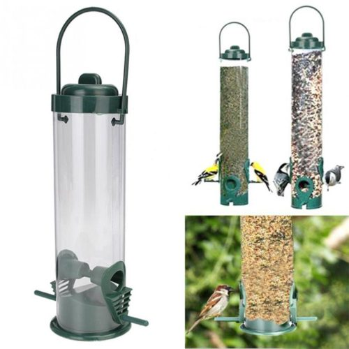 Hanging Bird Feeder Garden Decor