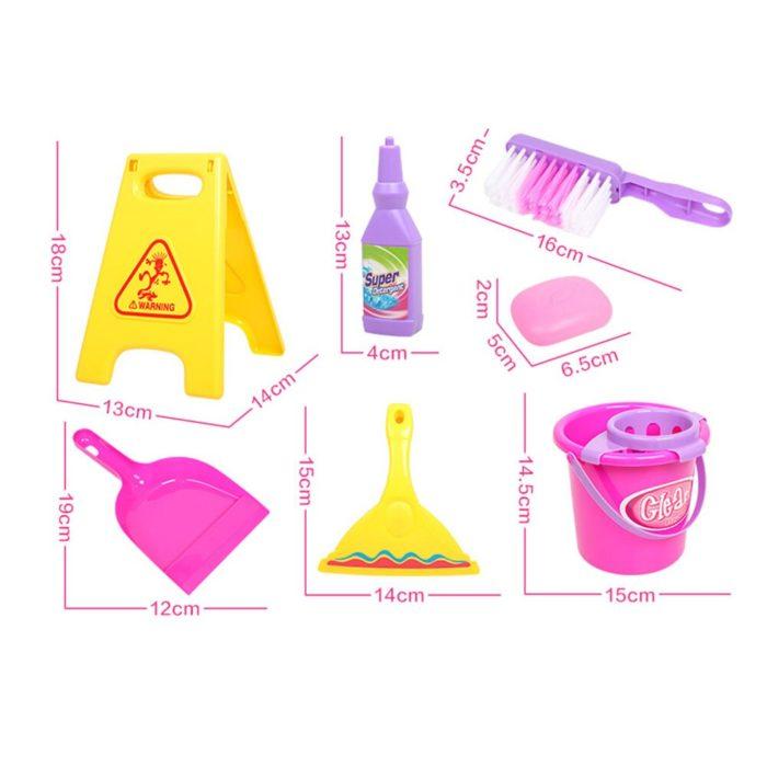Kids Cleaning Set Developmental Toy