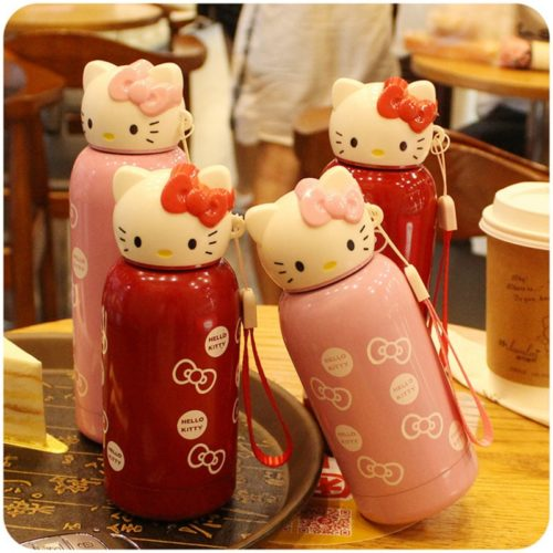 Insulated Bottle Hello Kitty Design