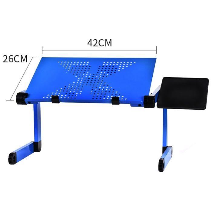 Folding Laptop Table Ergonomic Design