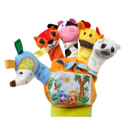 Glove Puppet Finger Plush Animals