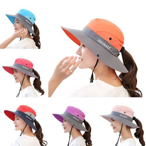 Ladies Summer Hat Sunshade Cap