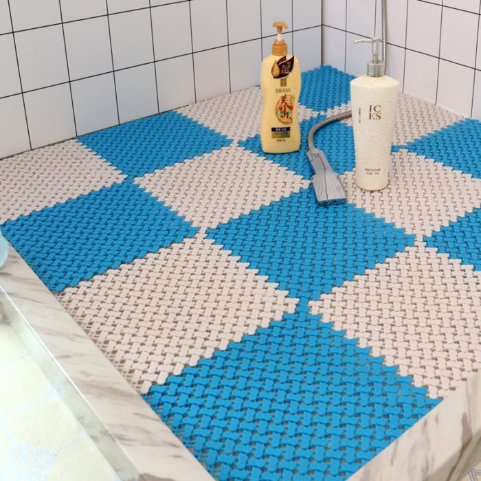 Shower Bath Mat Non-Slip PVC Mat