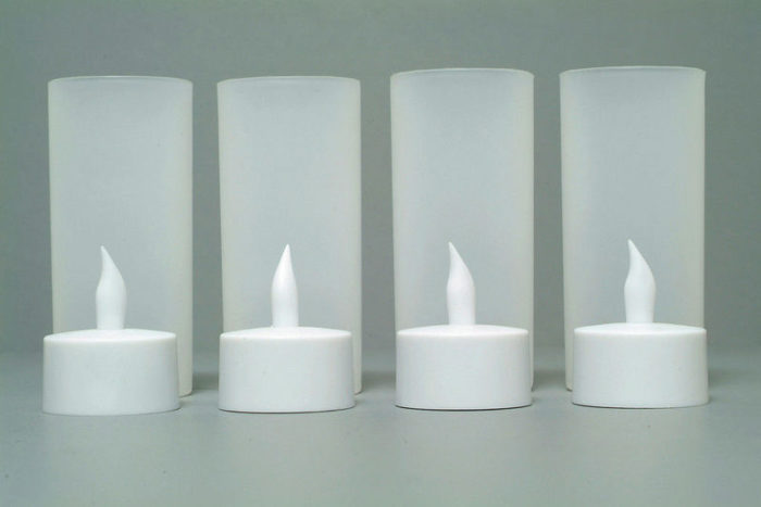LED Tealight Candles Rechargeable Candles