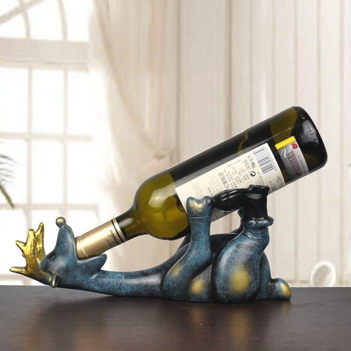 Single Wine Bottle Holder Creative Ornament