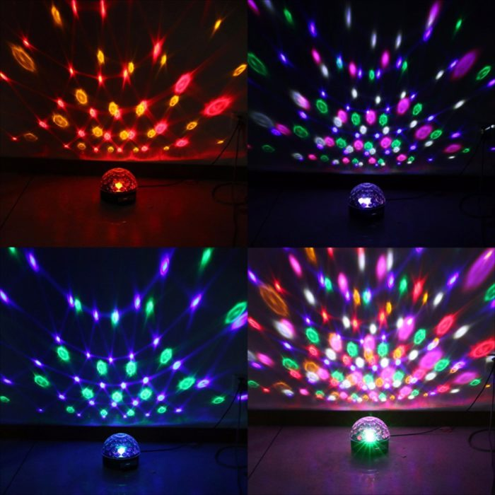 LED Disco Light Speaker Lamp