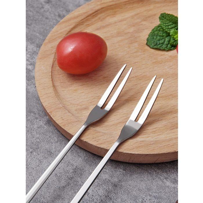 Cocktail Fork Long Handle Utensil