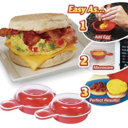 Microwave Egg Cooker Omelet Maker